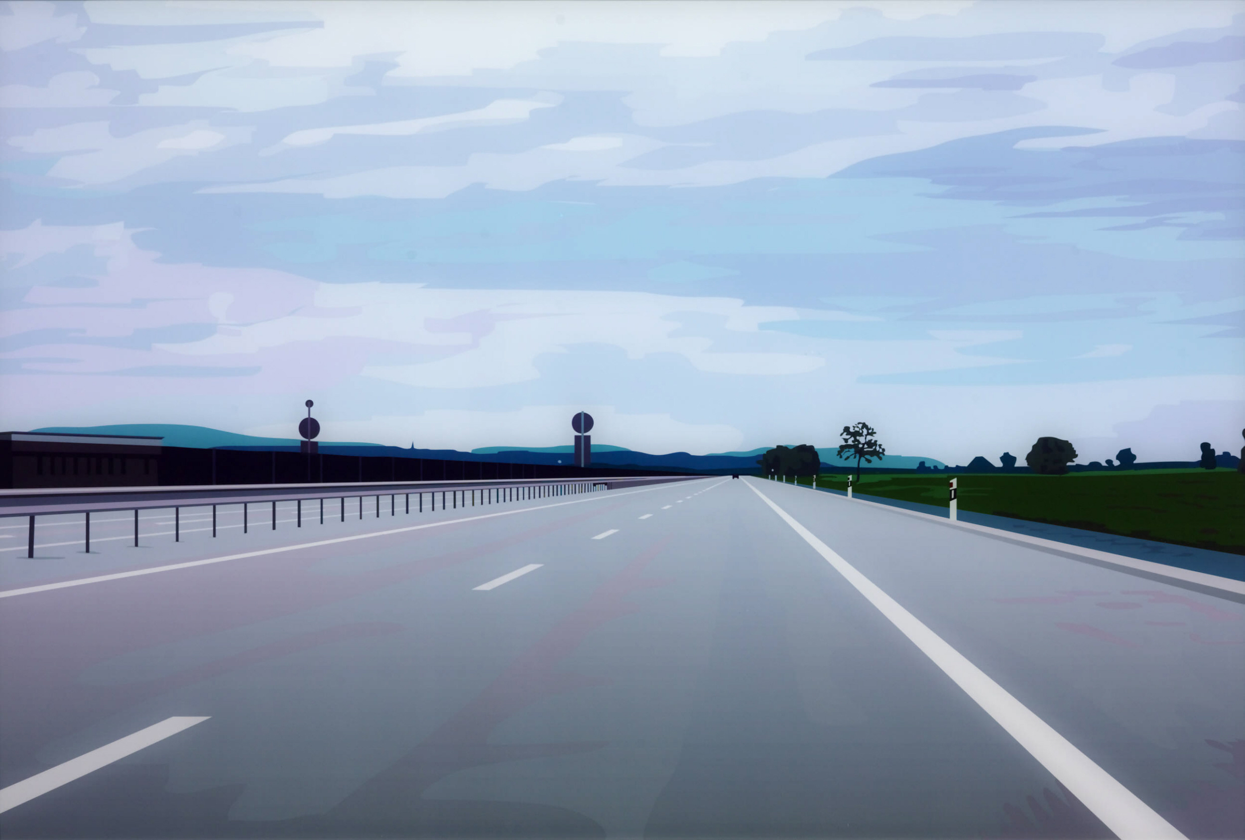 Painter Julian Opie: I've always been fascinated by landscapes