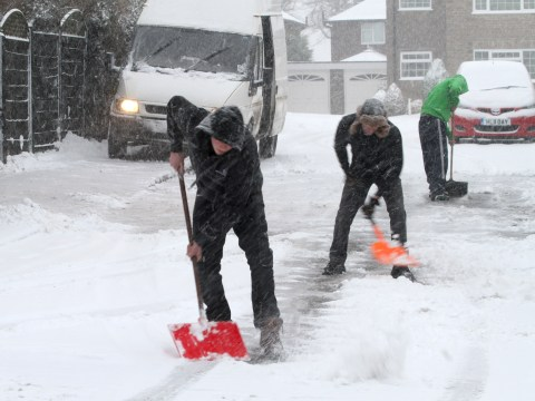 Snow and floods cause widespread disruption across the UK
