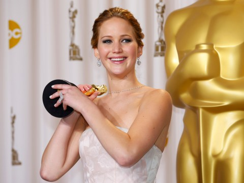 Jennifer Lawrence parts with Oscar because of statue's 'weird energy'