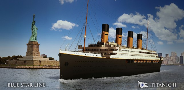 "Australian Billionaire Unveils Plans To Build ""Titantic II"" Cruise Ship"