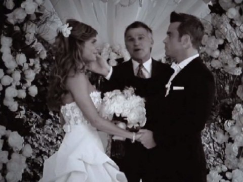 Robbie Williams reveals wedding footage in Soul Transmission video teaser