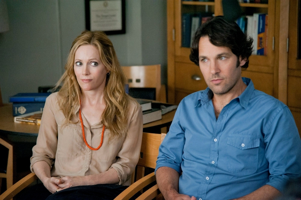 Paul Rudd and Leslie Mann star in Judd Apatow's This Is 40