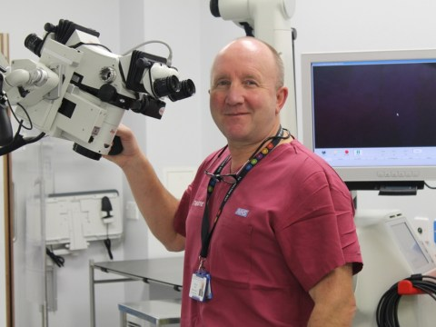 Neurosurgeon Paul May: I can't remember not wanting to be a doctor