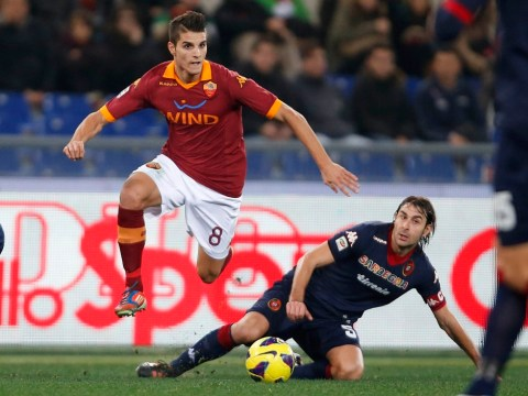 Roberto Mancini targets Roma youngster Erik Lamela for Manchester City switch