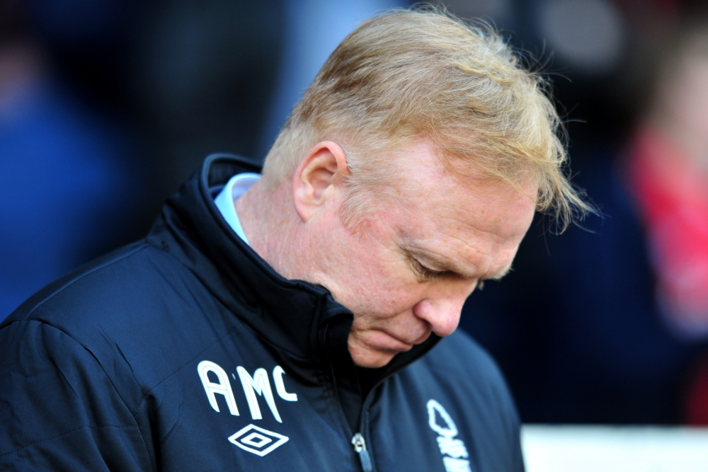 Alex McLeish quits Nottingham Forest because of owner's interference