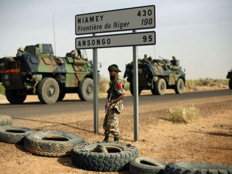 Francois Hollande says French troops could leave Mali next month