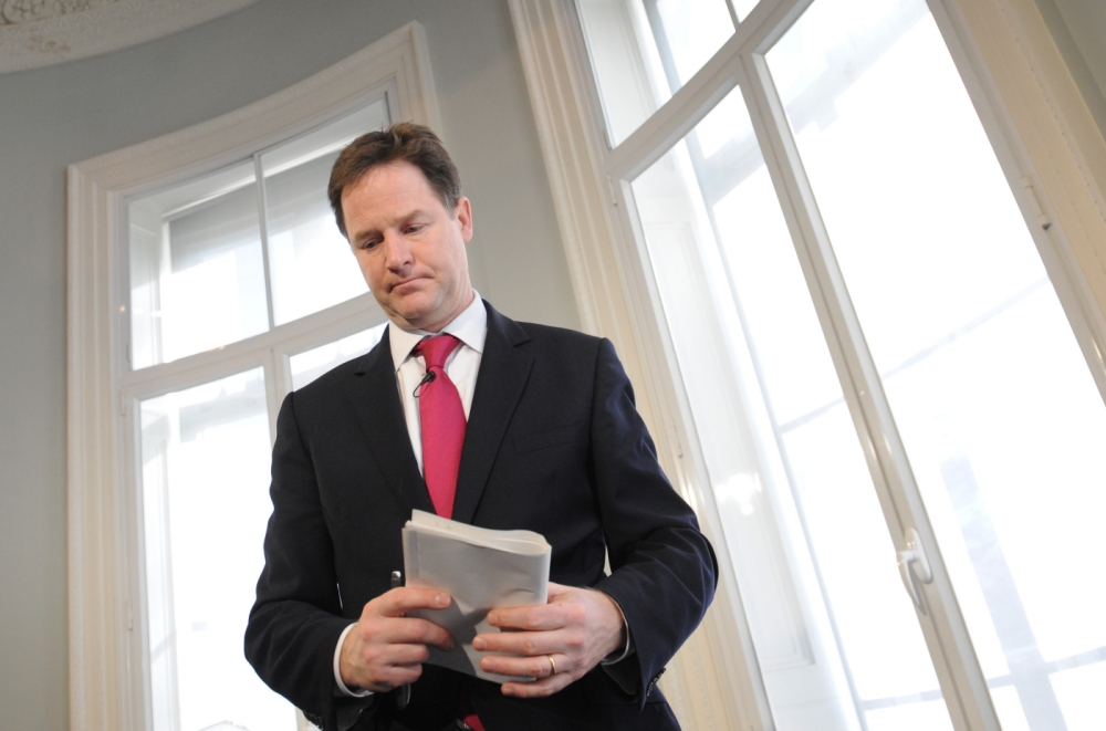 Boris Johnson ambushes Nick Clegg during radio phone-in