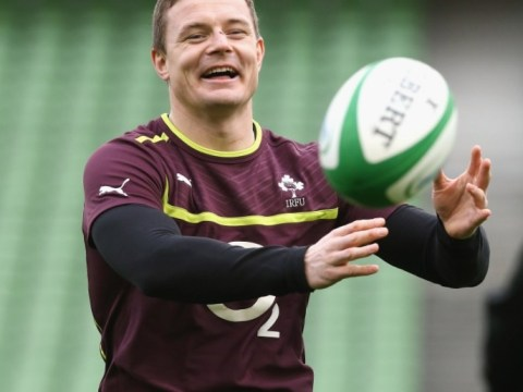 Ireland's Brian O'Driscoll becomes a dad ahead of Six Nations clash with England