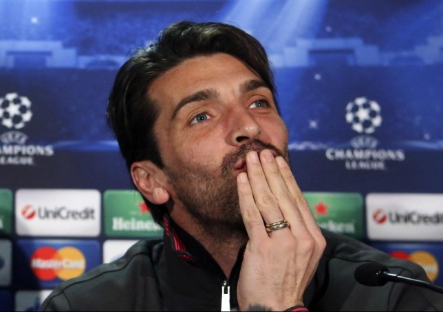 Doubts: Buffon wonders if Celtic will lack a cutting egde against Juventus (Picture: Reuters)