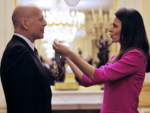 Bruce Willis awarded highest French arts honour for film services