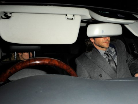 Bradley Cooper keeps his ladies' man reputation alive as he heads back to hotel with model Suki Waterhouse