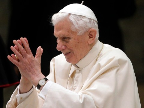 Faithful weep as departing Pope Benedict XVI says 'it's for the best'