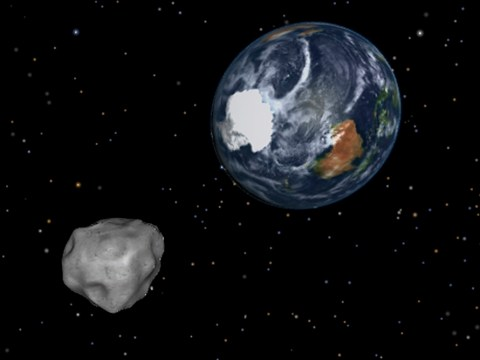 We're still here! Giant 'dinosaur-slaying' asteroid misses Earth by 3.6 million miles