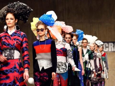 London Fashion Week: Disintegrating housewives at Louise Gray