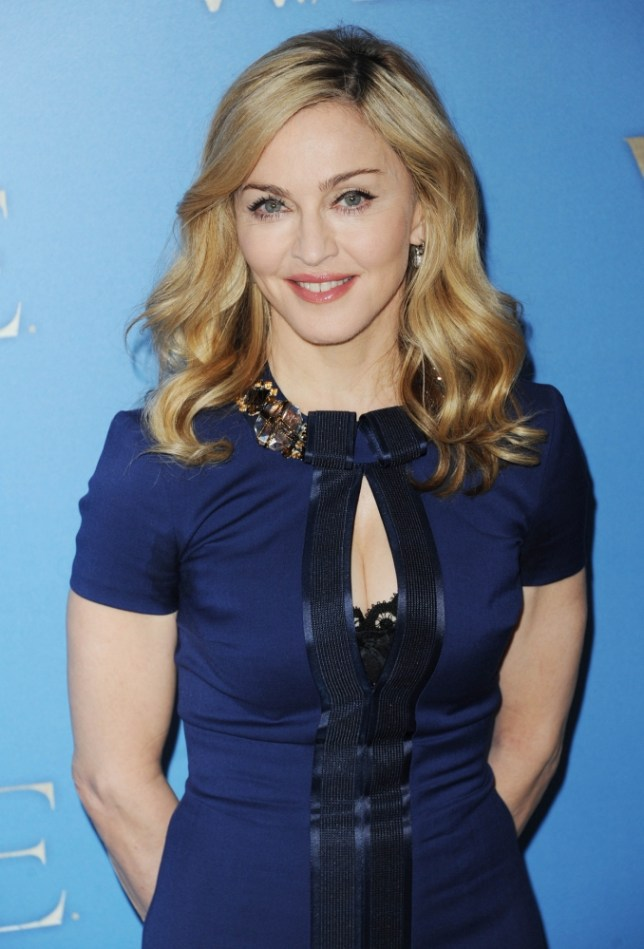Madonna is on 'team Ashton' after snubbing Demi Moore (Picture: Getty)