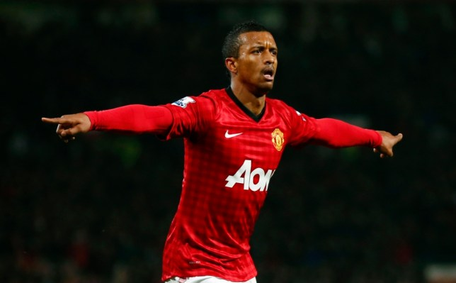 Nani opened the scoring in the second half (Picture: Reuters)