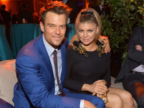 Excited Fergie reveals she's pregnant: Black Eyed Peas star and husband Josh Duhamel expecting first child together