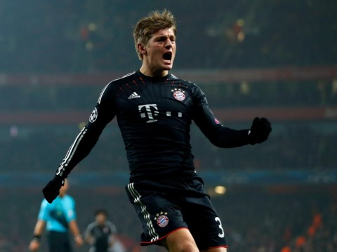 Toni Kroos cut up over conceding goal to Arsenal
