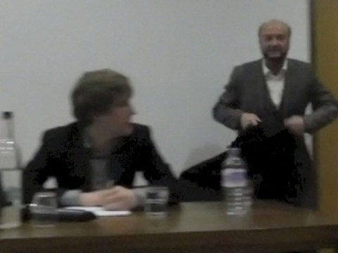 George Galloway accused of racism after walking out of Oxford University debate with Israeli student