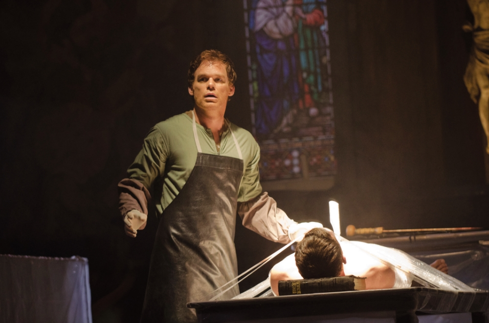Michael C Hall is enthralling as the secretive Dexter