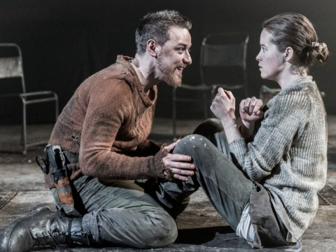 James McAvoy thrills in 'boyish but brutal' Macbeth with Claire Foy