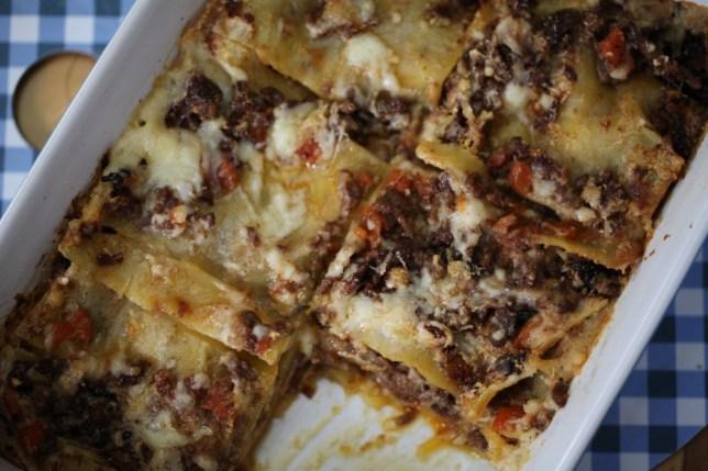 Chloe Scott's ultimate lasagne