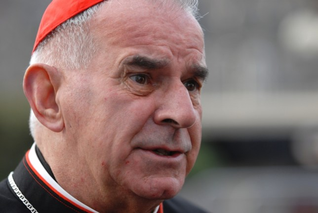 Cardinal Keith O'Brien, Roman Catholic church, Vatican