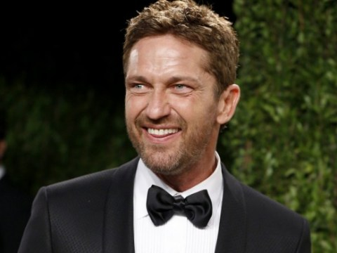 Germany goes nuts for Gerard Butler's party trick