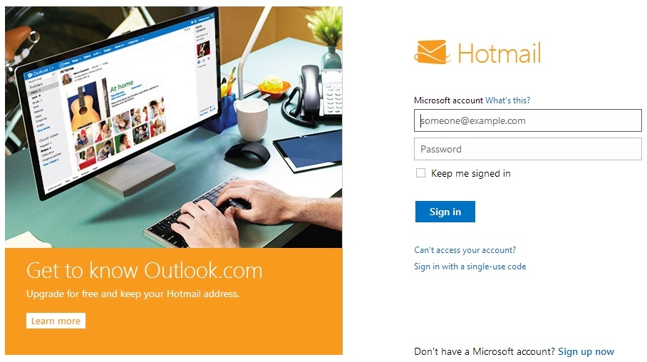 Hotmail users take to Twitter to complain as Microsoft email hit by severe disruption