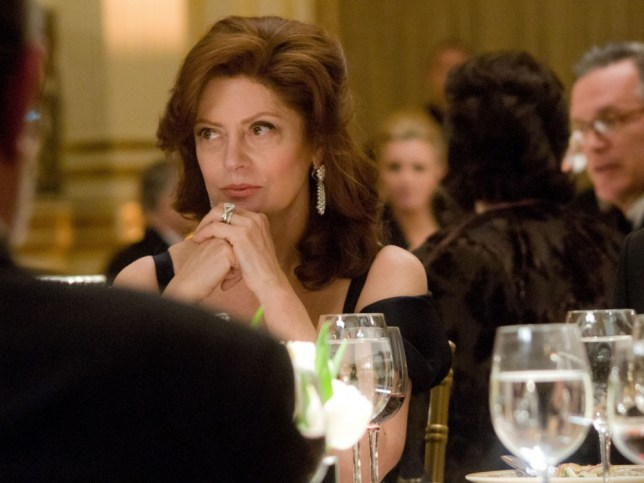 Susan Sarandon stars as a pampered lady who lunches in Arbitrage
