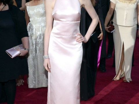Oscars 2013: Anne Hathaway's nipples gain their own Twitter account after making their red carpet debut