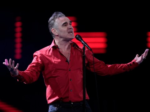 Morrissey reschedules concert after coming down with double pneumonia