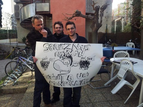 Ubisoft developers take to the street in Rayman Legends protest