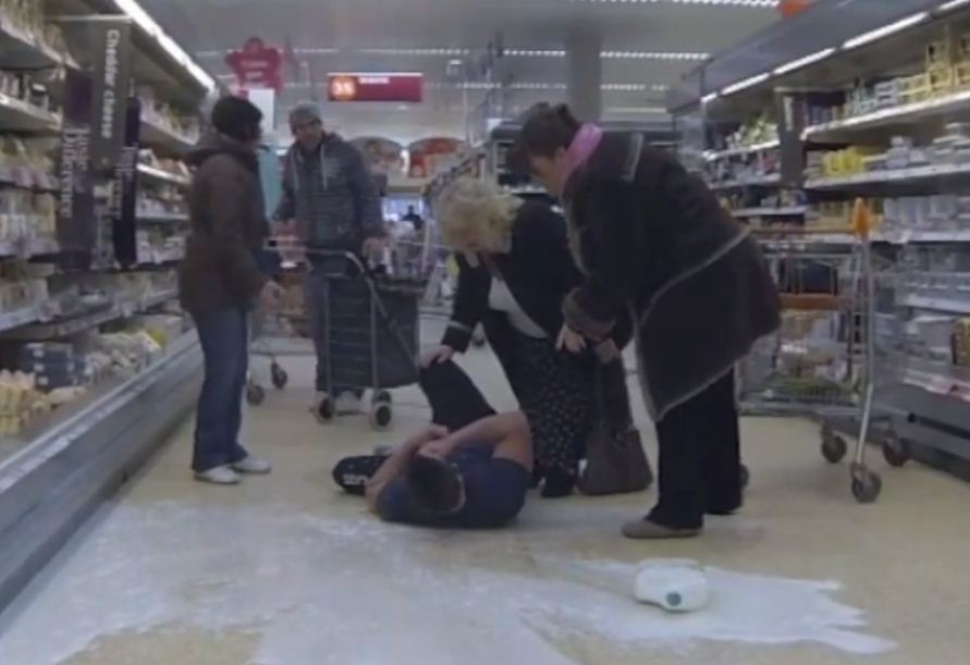 Does gallon smashing beat the Harlem Shake or is it just a criminal act?