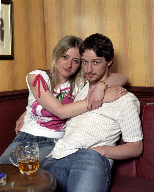James McAvoy and Anne-Marie Duff in Shameless (Picture: Channel 4)