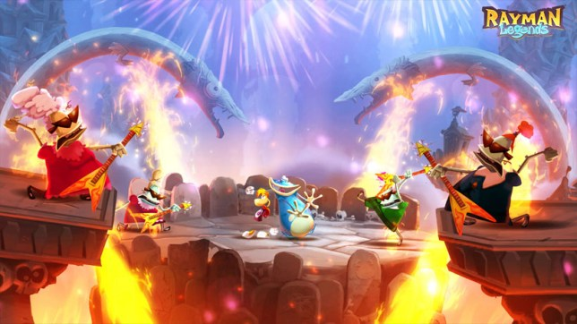 Rayman Legends - already in the can
