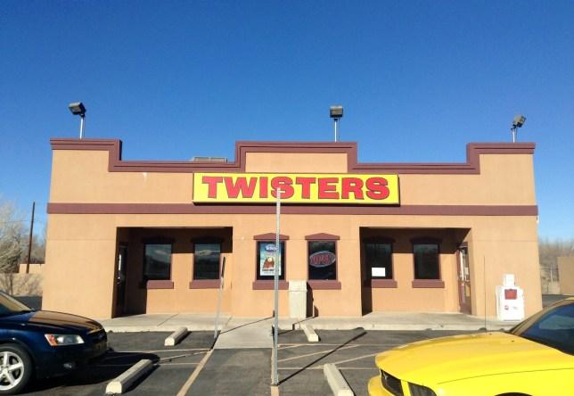 Twisters in Albuquerque, New Mexico
