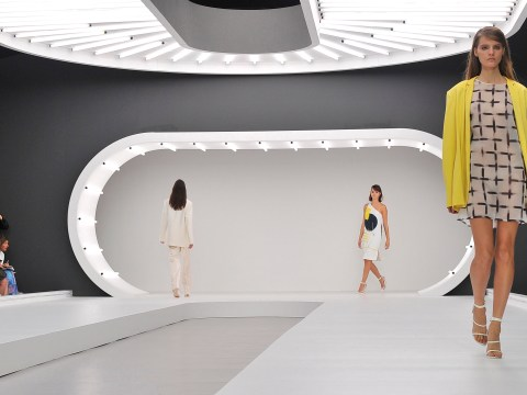 Topshop and Google team up for future fashion show