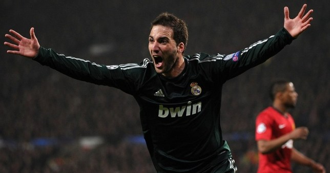 London bound? Real Madrid's Argentine forward Gonzalo Higuain (Picture: Getty)
