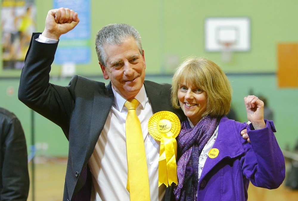 Lib Dems win Eastleigh by-election as Conservatives pushed into third