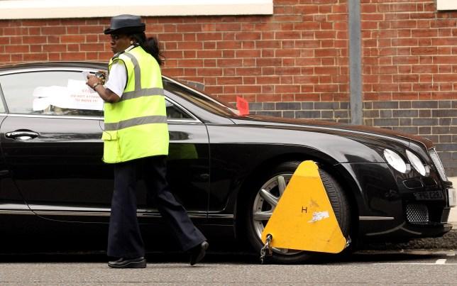 Traffic wardens