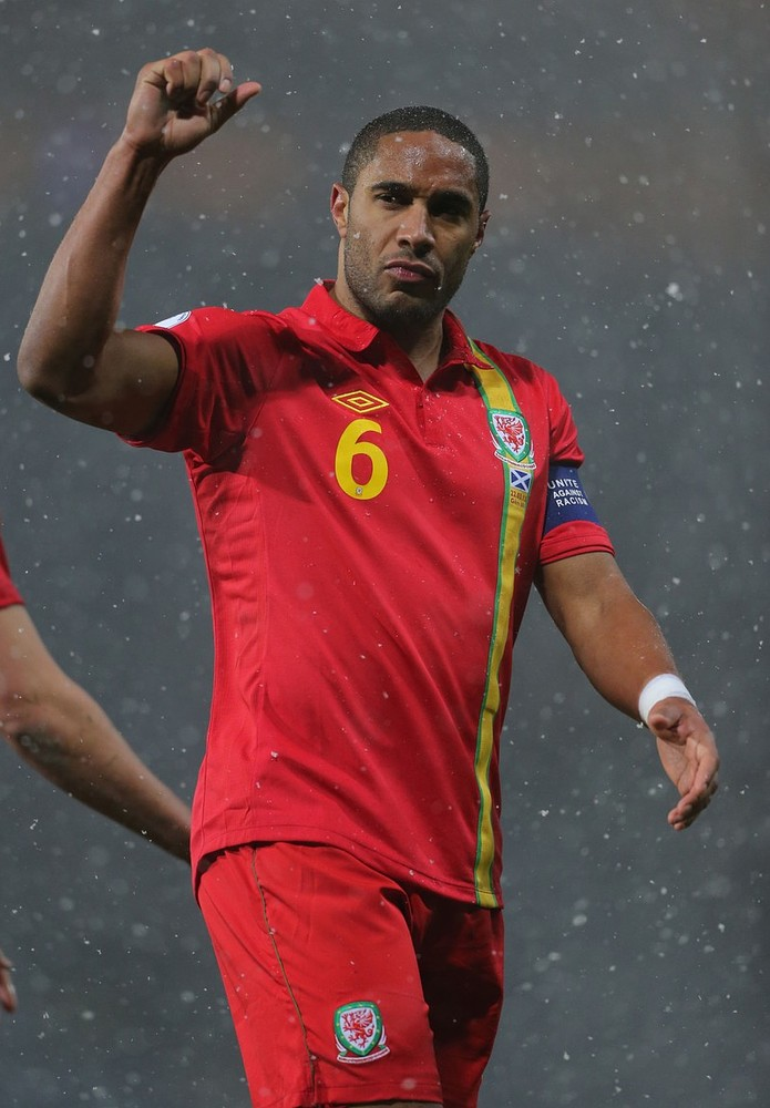 On the Reds' radar: Wales captain Ashley Williams is a Liverpool target (Picture: PA)