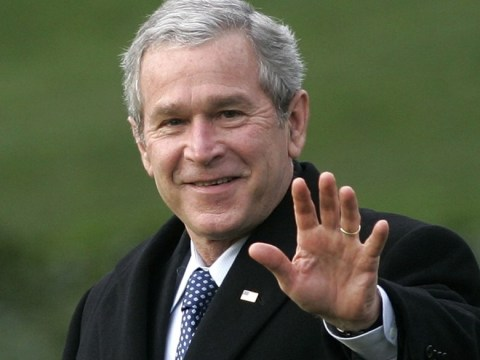 George Bush: Some people are surprised I can read