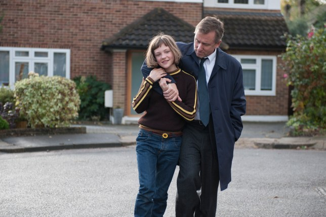 Tim Roth and Eloise Laurence give fantastic performances in Broken (Picture: Studiocanal)