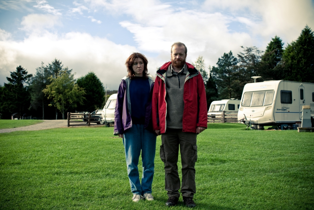 Steve Oram and Alice Lowe went on a caravan holiday together to develop their serial killer characters for Sightseers (Picture:File)