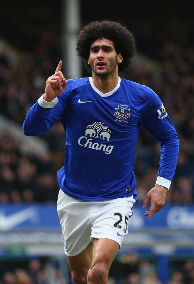Target man: Everton fear Marouane Fellaini could leave this summer. (Picture: Getty)