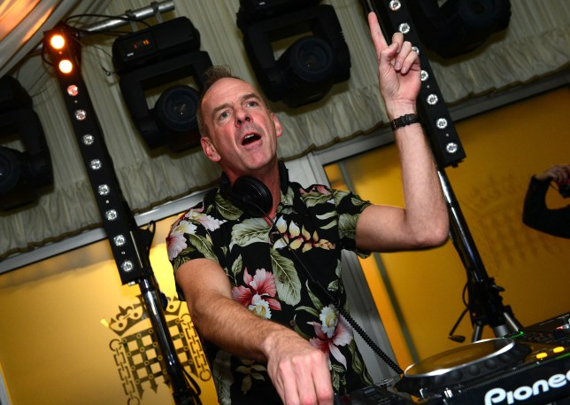 Fatboy Slim performed on the terrace bar of the House of Commons (Picture: AP)