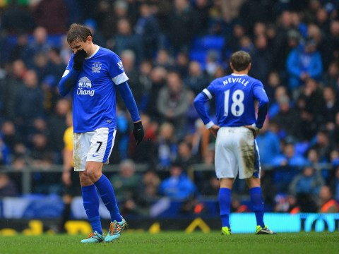 Everton struggle in FA cup match with Wigan Athletic