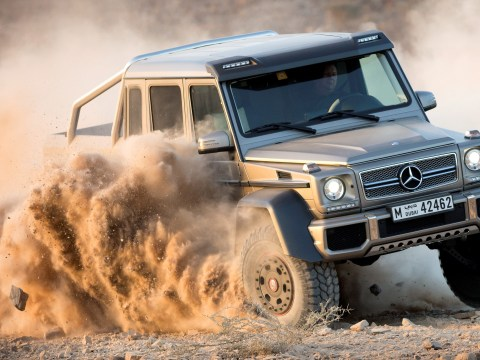 Mercedes goes flat out with G63 AMG 6×6