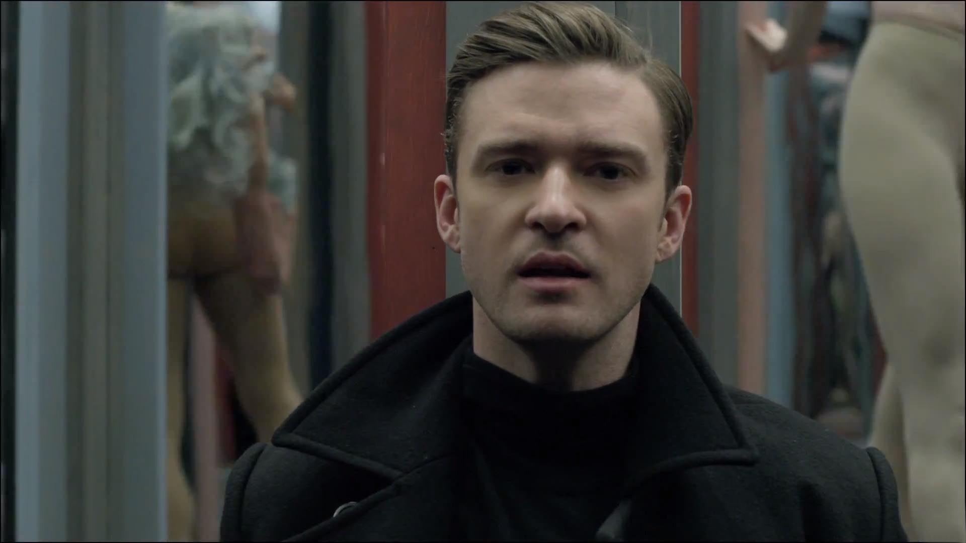 Justin Timberlake dedicated the video to his grandparents Sadie and William Bomar (Picture: RCA Records)